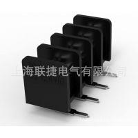快速接插件 PCB端子 黑色大电流LW1R-9.52间距栅栏式接线端子