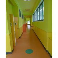 朝阳pvc地板幼儿园弹性防滑地面室内无菌聚脲耐磨地坪漆厂家施工