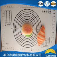 厂家直销耐高温不粘定制硅胶烤垫硅胶玻纤垫