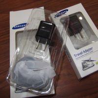 厂家直批现货三星1A小方块充电器插头USB手机直充+三星数据线混批