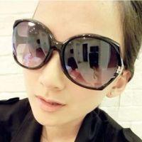 2013新欧美范范同款墨镜小辣椒大框蛤蟆镜女明星款太阳镜一件代发