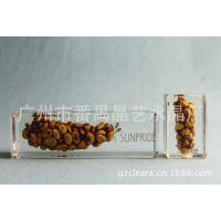 晶艺水晶厂-水晶胶工艺品,内放猫屎咖啡豆,款式尺寸均可定制