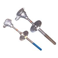 上海仪川仪表厂家供应WZP--130 PT100L螺纹M27热电阻