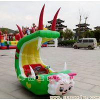 南阳广场气模音乐儿童充气电瓶车各种碰碰车厂家