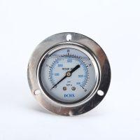 【乔木电气】批发充液压力表迷你型带法兰片面板式安装甘油压力表YTN-60ZT