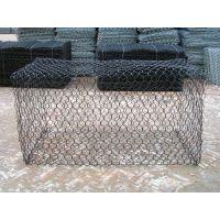 河道护坡钢丝网毛石挡土墙装毛石铁丝网笼