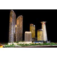 品筑艺术精品东海国际1:180亚洲规模公司专业沙盘建筑模型制作