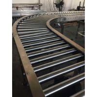 厂家非标定制转弯滚筒流水线 轮胎输送线 输送机 滚筒线