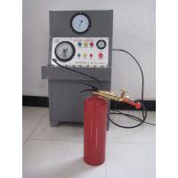 【饶阳鸿源机械】灭火器维修氮气充压设备@给灭火器加压设备@灭火器氮气灌装机厂家