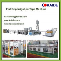 Flat Drip Irrigation Pipe Making Machine