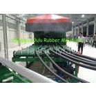 1500mm Width Max EPDM Foam Sheet Machine Continuous Vulcanization Easy Operation