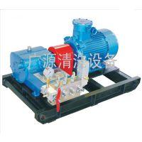 广源电动高压水射流清洗机,用于电厂冷凝器,热交换器,蒸发罐等