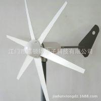 风能设备 风光互补小型 水平轴风力发电机内置控制器 直流12V 24V