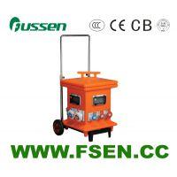 富森供应380V125ACEE航空防水插座组合箱带漏电保护配电电源检修箱