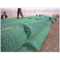 PVC涂塑石笼网 PVC石笼网箱 PVC格宾网 PVC 雷诺护垫 耐酸碱不生锈 使用周期长