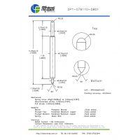深圳吉米探针 DP1-076110-DB01双头BGA 测试针