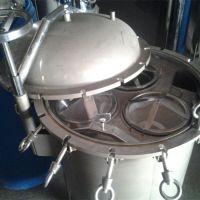 袋式除杂质过滤设备 果汁、牛奶、酒、油等液体提纯过滤设备找晨兴制造商