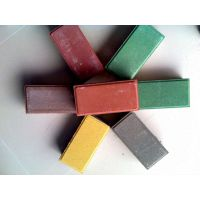 供应广州惠州东莞环保彩砖人行道路面砖广场砖透水砖园林绿化砖植草砖