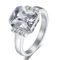 欧美外贸热卖韩版戒指 八心八箭水钻 微镶时尚女士戒指指环速卖通