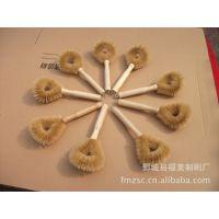 厂家特供实木柄猪鬃毛锅刷 刷子 厨房用具清洁刷 定做清洁用品