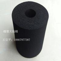 专业出售 黑色橡塑发泡管 阻燃复合铝箔橡塑发泡管