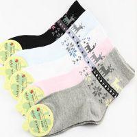 卡通全棉可爱宝宝袜春季新款外贸纯棉 男女儿童袜子厂家袜子批发