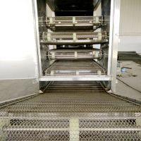 乾德机械直供带式干燥设备 药材专用多层带式干燥设备 网带烘干机生产