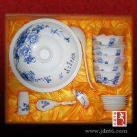 陶瓷餐具套装图片,青花餐具定做批发,景德镇餐具厂家