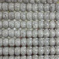厂家批发星月菩提正月高密顺白干磨108+6颗佛珠手串