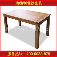 新品热卖 田园餐桌椅组合纯全实木时尚简约特价
