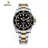 劳力士腕表 潜航者ROLEX男士机械防水手表 116613LN(黑盘)