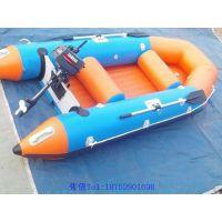 厂家定制4人橡皮艇 漂流船 皮划艇 加厚充气船