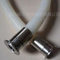 厂家直销 不锈钢高压套筒接头 卫生级快装扣压胶管接头代扣压