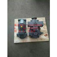 内蒙古乌兰浩特12方混凝土搅拌车WJH液压泵A4VTG90总成及配件低价直销