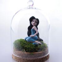 厂家定制 手工diy生态创意 微景观玻璃瓶  多肉植物 台藓 生态瓶