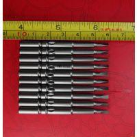 直径5mm总长60mm工作直径2.8mmX10mm三角形刀口电动螺丝刀头批嘴