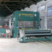 供应1200T多层或单层草席藤席竹凉席压机设备-青岛国森
