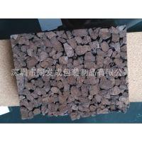 厂家定做黑色碳化软木板 20mm-300mm碳化软木板 软木块