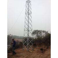 河南25米避雷塔安装风力发电防雷施工LNG加气站防雷工程三角形避雷塔价格
