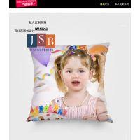照片抱枕定制定做沙发靠垫创意个性DIY明星靠枕头结婚庆礼物