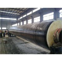 Q235钢套钢蒸汽复合保温管生产厂家瑞泰管道