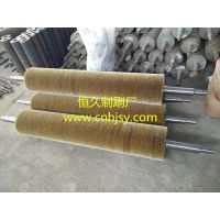 缠绕刷辊的制作流程 缠绕钢丝辊制做成型前8种部署