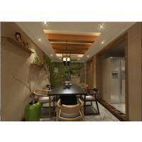 重庆北碚别墅装饰设计 北温泉9号别墅施工图 天古装饰美式风格设计图