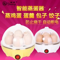 新款不锈钢煮蛋器蒸蛋器蒸蛋羹自动断电防干烧7枚大容量特价包邮