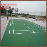 佛山丙烯酸篮球场地面 标准网球场地面施工价格 硅pu面层厚度?