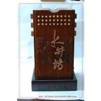 【工定制】水井坊珍藏酒盒 高档实木酒盒 实木精品白酒包装盒加工