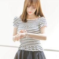 韩国代购正品夏装新款女装品牌attrangs-AR25222-T恤