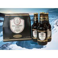 进口啤酒,德国瓶装啤酒,330ml听装啤酒代理商