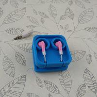 创意积木手机耳机线收纳盒 硅胶绕线器