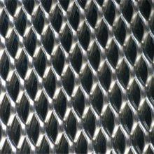 旺来304拉伸钢板网 金属菱形网 小型钢板网